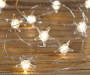 Warm White Starfish LED Battery Operated Micro Light Set 30 Count Out of Package