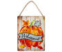 Welcome Pumpkin Wall Decor silo front