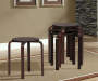 Wenge Bentwood 4 Piece Stool Set lifestyle