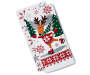Whimsical Deer and Snowflake Kitchen Towels 2-Pack Silo Image
