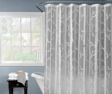 Non Combo Product Selling Price 60 Original List 600 Just Home White Birch Shower Curtain