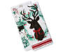 White Deer and Wreath Kitchen Towels 2 pack silo front