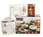White Round 12-Piece Dinnerware Set