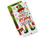 White and Green The Elf Did It Kitchen Towels 2 Pack silo front