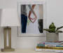 Whitewash Wood Picture Frame 11 inch x 14 inch lifestyle