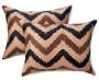 Wild Chevron Queen 12 Piece Comforter Set silo front
