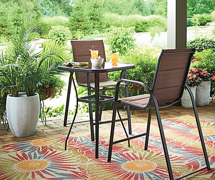 Experience A Lovely Relaxing Meal Or Conversation Even In The Smallest Of Areas Using This Wonderful Aspen High Bistro Dining Set From Wilson Fisher