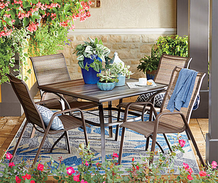 Wilson Fisher Boca Huntington Patio Dining Set Big Lots