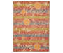 "Wilson & Fisher Costa Floral Indoor/Outdoor Rug, (6'7"" x 8'10"")"