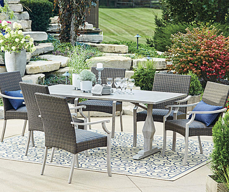 Wilson & Fisher Innisbrook 7-Piece Patio Dining Set