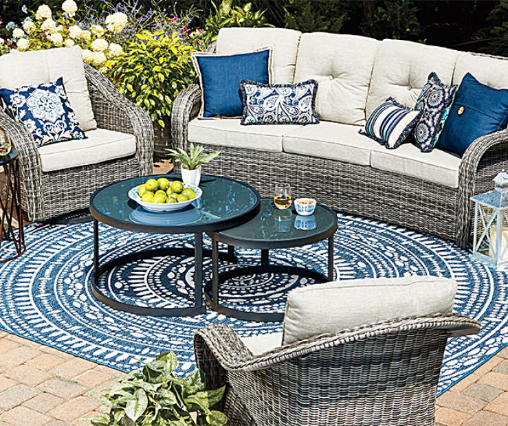 Wilson Fisher Lakewood 5 Piece Patio Furniture Set Big Lots