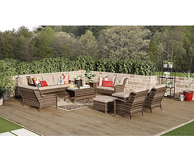 Wilson & Fisher Oakmont Extra Large Patio Seating Sofa