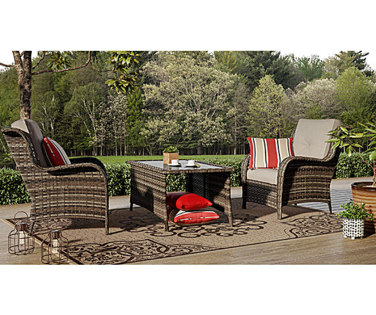 Wilson & Fisher Oakmont Small Space Patio Seating Chairs