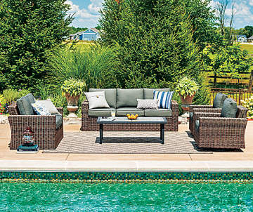 Wilson Fisher Shadow Creek 5 Piece Patio Furniture Set Big Lots