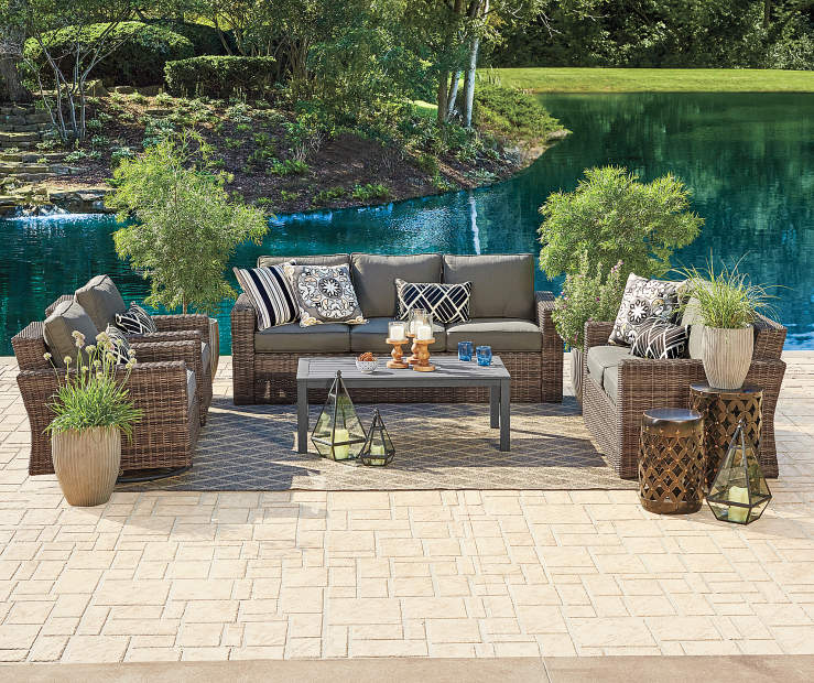 Wilson Amp Fisher Shadow Creek 5 Piece Seating Set Big Lots