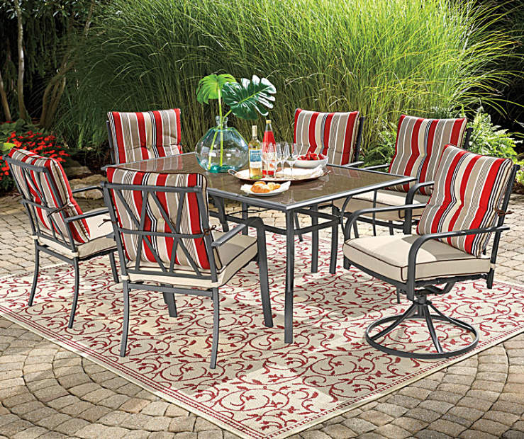 Big Lots Dining Set: Wilson & Fisher Sierra Patio Furniture Collection