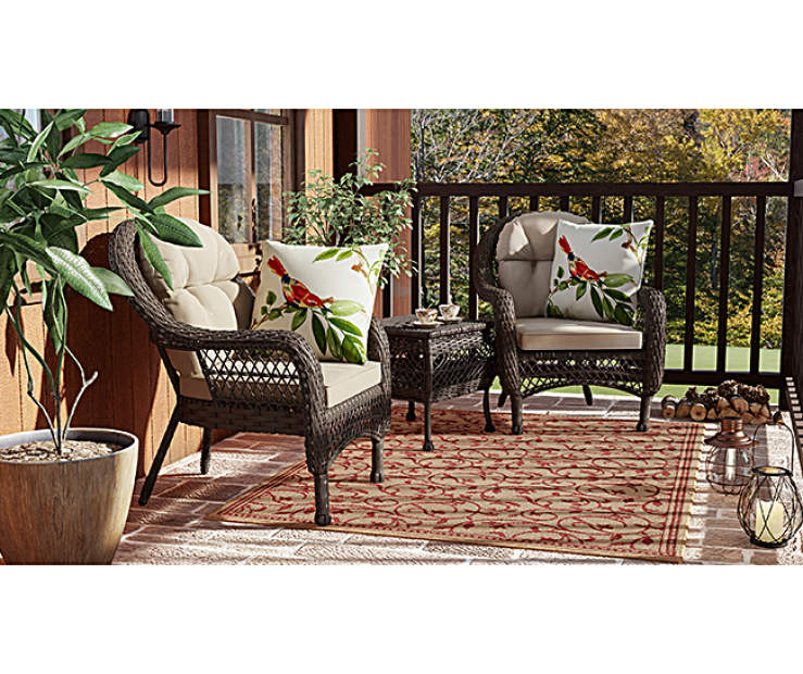 Wilson Fisher Westwood Small Space Patio Chairs Big Lots
