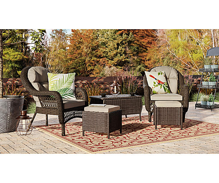 Wilson & Fisher Westwood Small Space Patio Seating Chairs