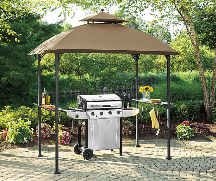 Wilson Amp Fisher Windsor Grill Gazebo And Grill Collection