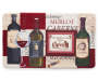 Wine Chef Mat 18 Inches by 30 Inches Front View Overhead View Silo Image