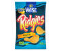 Wise Ridgies Original Ridged Potato Chips 4.25 oz. Bag