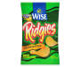 Wise Ridgies Sour Cream & Onion Ridged Potato Chips 4 oz. Bag