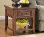 Woodboro Brown End Table lifestyle
