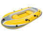 Yellow Inflatable 2 Person Raft silo front