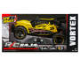 Yellow R C Baja Vortex 1:14 Remote Control Buggy silo front in package