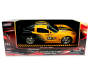 Yellow and Black Chevrolet Corvette Remote Control Racing Car Silo In Package