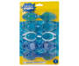 Youth Swim Goggles 5 Pack in Package Silo Image