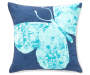 Zen Butterfly Throw Pillow 18 inches by 18 inches Silo Front