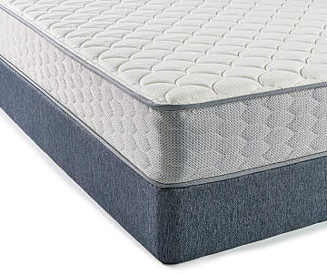 Serta Firm Twin Mattress Low Profile Box Spring Set Perfect