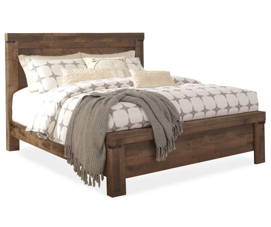 Signature Design By Ashley Trinell Panel King Bed Big Lots