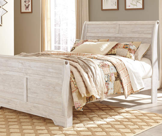 By Ashley Willowton Queen Bed Big Lots, Big Lots Queen Sleigh Bed