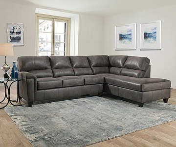 Lane Navigation Gray Living Room Sectional