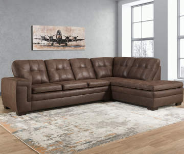 Lane Furniture Excursion Java Living Room Sectional