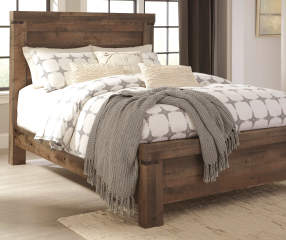 signature design by ashley trinell queen bed 3 piece set 14546 | product chain 5d