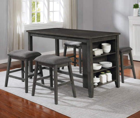 Raleigh 5 Piece Storage Dining Set, Big Lots Dining Room Table