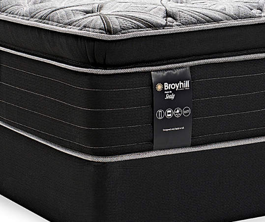 Broyhill By Sealy Queen Ultra Plush Mattress Box Spring Set Gatewood Pillowtop Big Lots