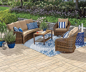 Patio & Outdoor Furniture | Big Lots on Outdoor Sectional Big Lots id=57560