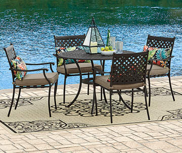 BigLots.com deals on Wilson & Fisher Willow Lakes 5-Piece Dining Set